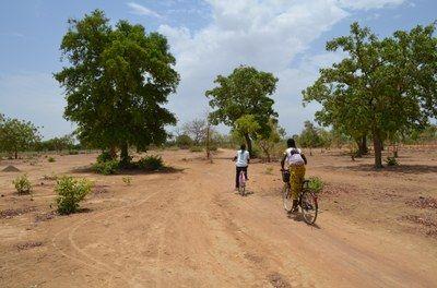 Am Stadtrand von Ouagadougou