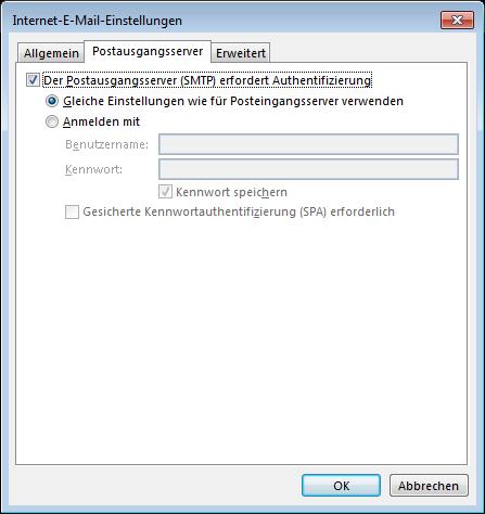 06 Outlook 2013 - Manuelle E-Mail Einrichtung - Internet-E-Mail-Einstellungen