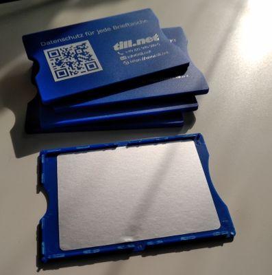 RFID Shutzkarte Innenansicht